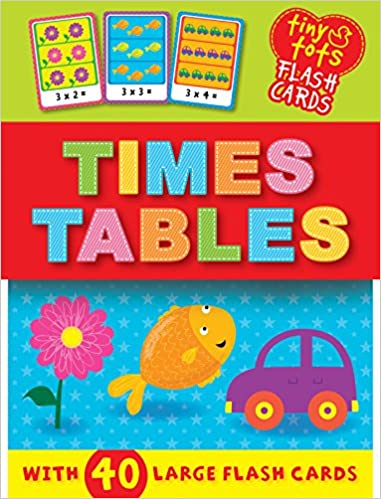 Tiny Tots Flash Cards: Times Tables - (Cards)